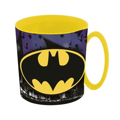 Taza plástico microondas 360ml Batman