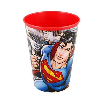 Vaso plástico 260ml Superman