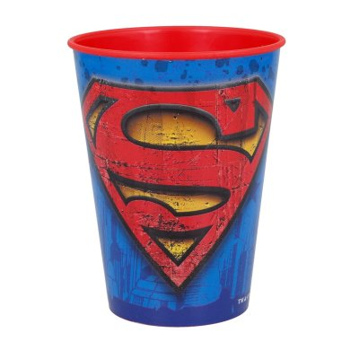 Vaso plástico 260ml Superman DC