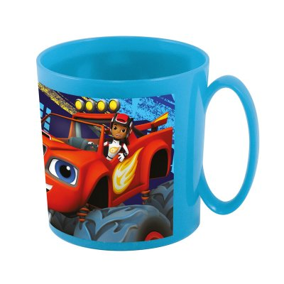 Taza plástico microondas 360ml Blaze and the Monster Machines