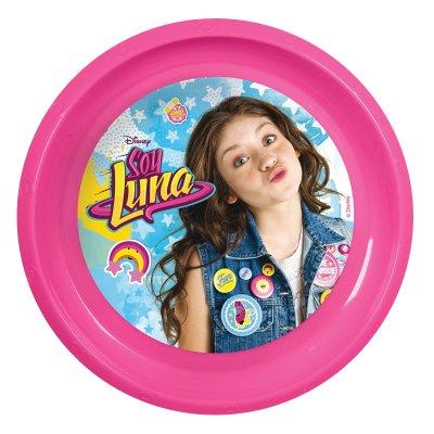 Plato plástico Soy Luna