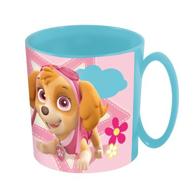 Wholesaler of Paw Patrol Girls plastic microwavable mug 360ml