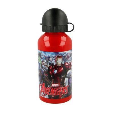 Botella aluminio 400ml Los Vengadores Marvel