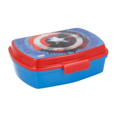 Wholesaler of Sandwichera rectangular Capitán América Marvel