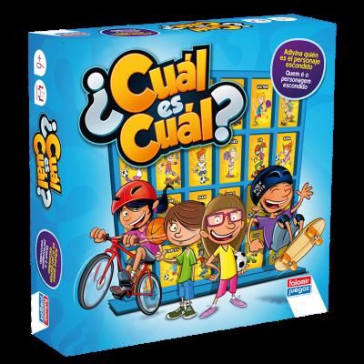 Wholesaler of Juego de mesa Cual es Cual - azul