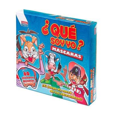 Wholesaler of Juego de adivinanzas ¿Qué soy yo? Máscaras