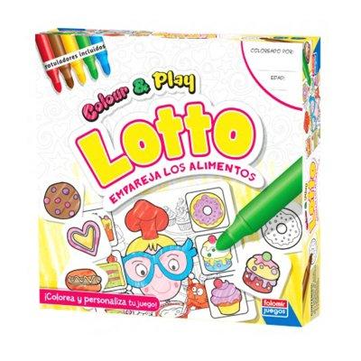 Wholesaler of Juego empareja alimentos Lotto