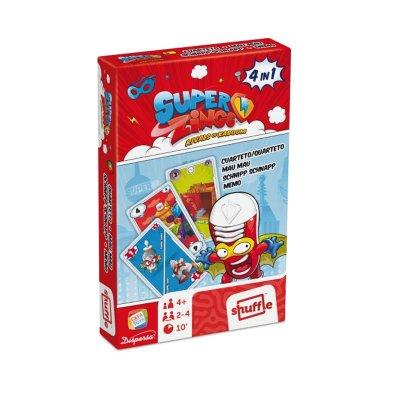Wholesaler of Juego de cartas Superzings 4 en 1