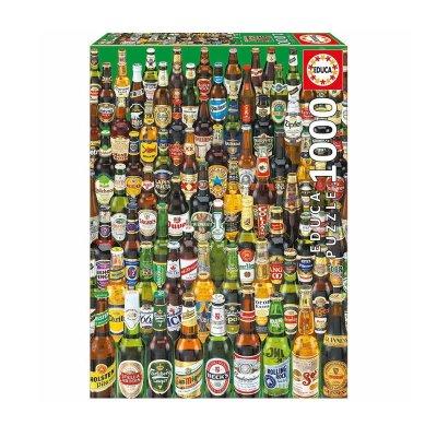 Puzzle Cervezas 1000 pzs