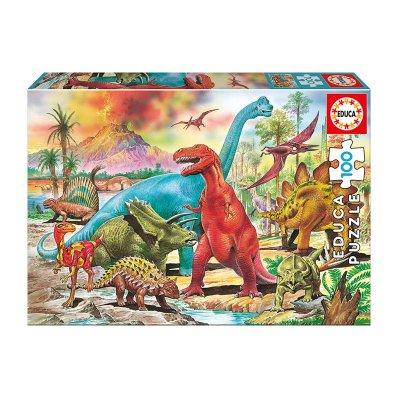 Puzzle Dinosaurios 100pzs