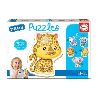 Wholesaler of Baby Puzzle Animales salvajes 5x2/5pzs