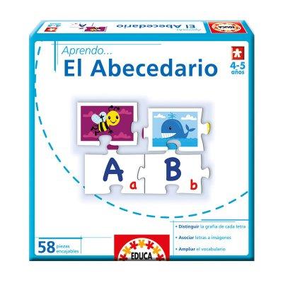 Puzzle Aprendo...El Abecedario 58pzs