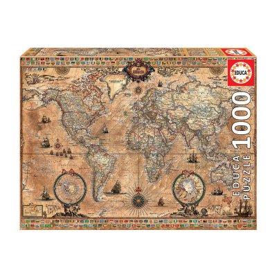 Puzzle Mapamundi 1000 pzs