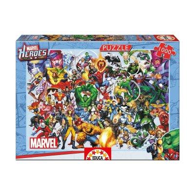 Puzzle Los Héroes de Marvel 1000pzs