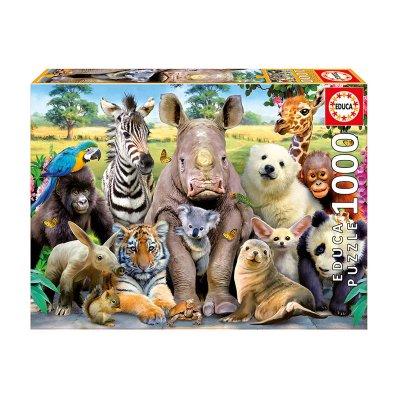 Puzzle Foto de clase 1000pzs