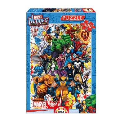 Puzzle Los Héroes de Marvel 500pzs