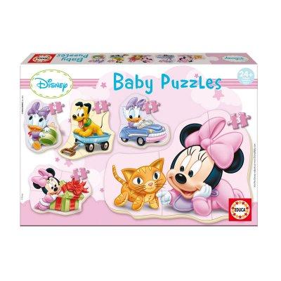 Baby Puzzle Minnie 3 5 pzs
