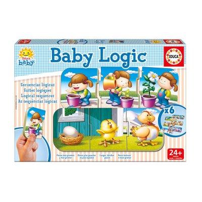 Baby Puzzle Secuencias lógicas 3x6pzs