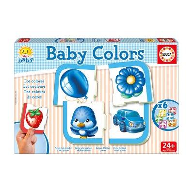 Baby Puzzle Colores 4x6pzs