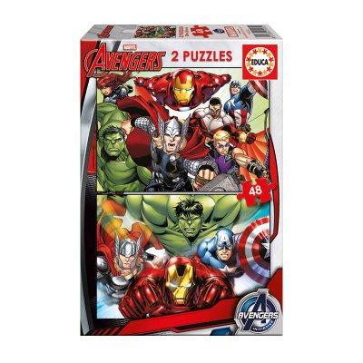 Wholesaler of Puzzles Los Vengadores 2x48pzs