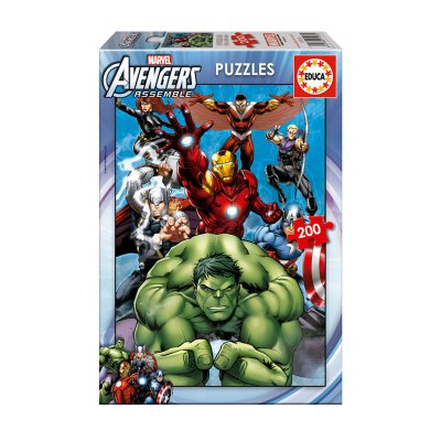 Puzzle Los Vengadores 200 pzs
