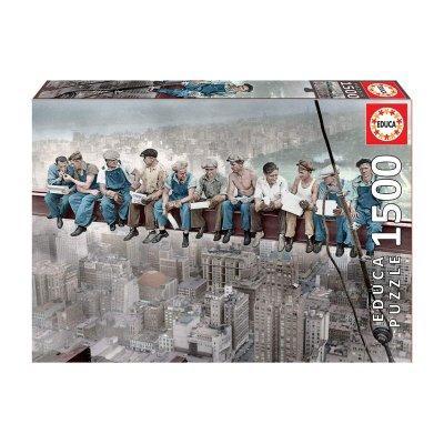 Puzzle Almuerzo en Nueva York 1500 pzs