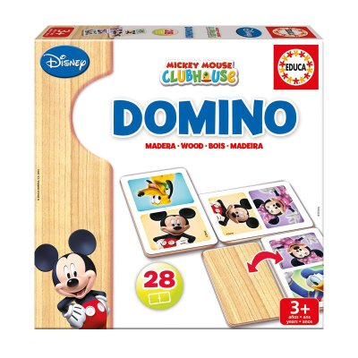 Juego Domino Mickey Club House