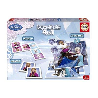 Puzzle Frozen Disney 4 en 1 2x25pzs