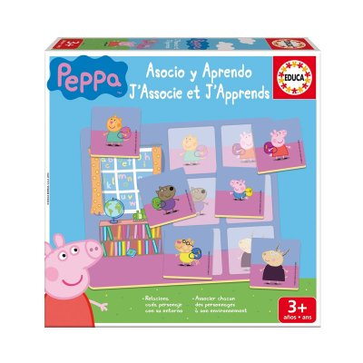 Juego Asocio y Aprendo Peppa Pig