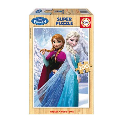 Puzzle madera Frozen 100 pzs