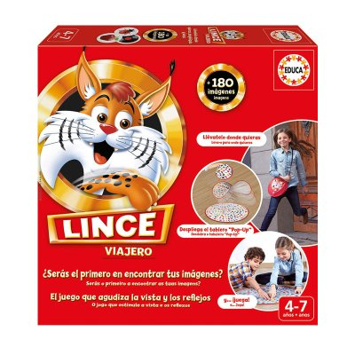 Puzzle Lince viajero 180 imágenes