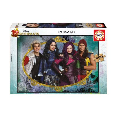 Puzzle Los Descendientes (Descendants) 300 piezas