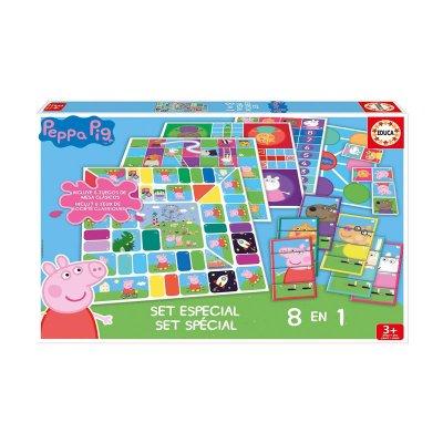 Puzzle Set especial 8 en 1 Peppa Pig
