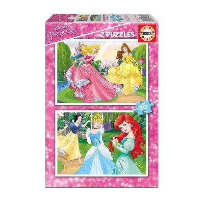 Puzzles Princesas Disney 2x20pzs