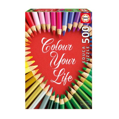 Wholesaler of Puzzle Colour Your Life 500 pzs