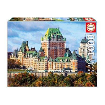 Puzzle Castillo de Frontenac Canada 1000pzs