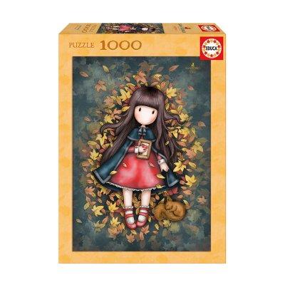 Puzzle Autumn Leaves Gorjuss Santoro 1000pzs