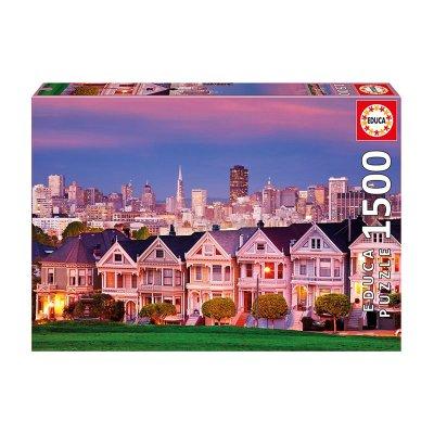 Puzzle Las Damas Pintadas San Francisco 1500pzs