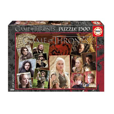 Puzzle Juego de Tronos 1500pzs