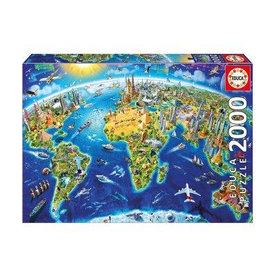 Wholesaler of Puzzle Símbolos del mundo 2000pzs