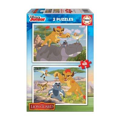 Puzzles El Rey León 2x48pzs