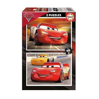 Puzzle Cars 3 2x48 pzs