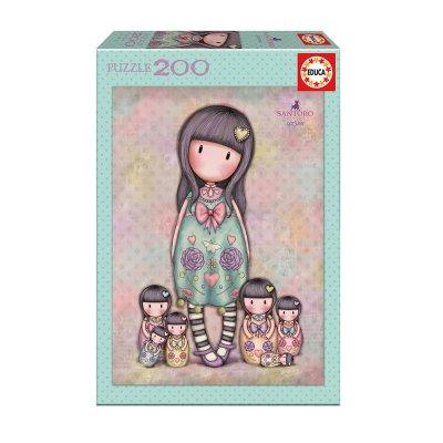 Puzzle Seven Sisters Gorjuss Santoro 200 pzs