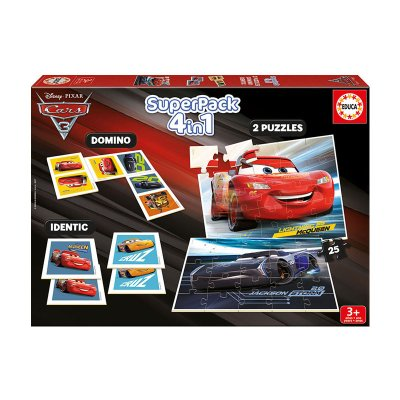 Puzzle Superpack Cars 3