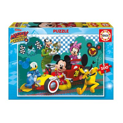 Puzzle Mickey and The Roadster Racers 100pzs
