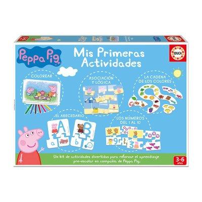 Puzzle Mis primeras actividades Peppa Pig