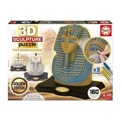 3D Puzzle Tutankhamon Gold Edition
