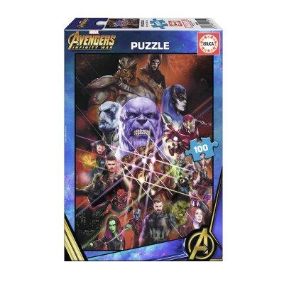 Puzzle Advengers Infinity War 100pzs