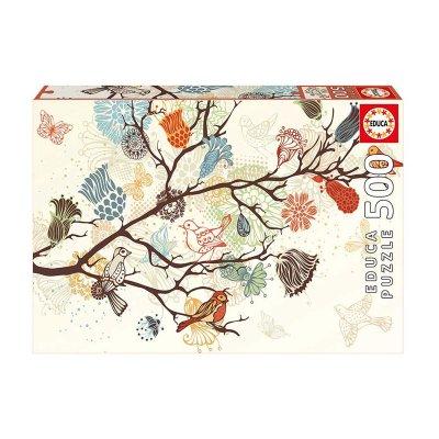 Puzzle Composición floral 500pzs