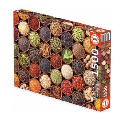 Puzzle Especias y condimentos 1500pzs